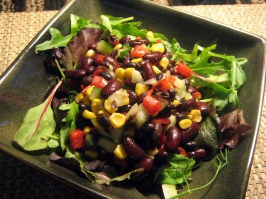 CountryRockRecipes.com's Black Bean Salad